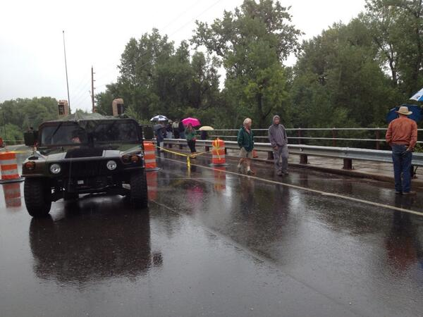 National guard on closed overland trail at #poudre river #cowx #coflood http://twitter.com/Krisbb/status/379329311292919809/photo/1