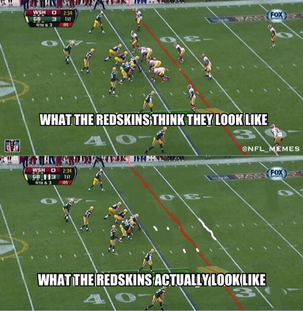 Nfl Memes On Twitter Washington Redskins Logic Httptcoyvby3hys4q