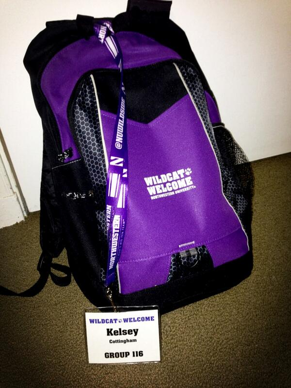 Waited 2 years for this backpack. So blessed to be one of the students to wear it. @WildcatWelcome #NU2017 #TNC http://twitter.com/kelsey_patricia/status/379471899140435969/photo/1