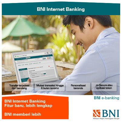"""BNI on Twitter: """"BNI Internet Banking tampil dg wajah baru"""