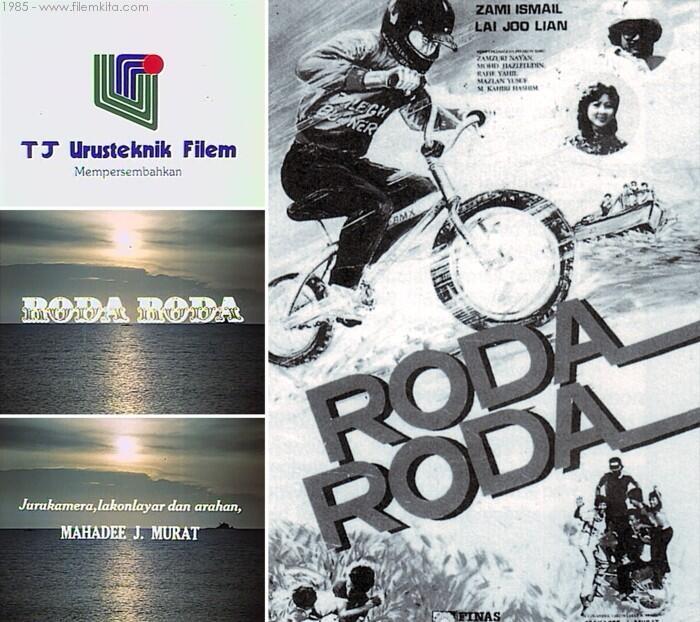 #FilemMalaysia50 Roda Roda (1985) keluaran TJ Urusteknik Filem ialah filem pertama arahan Mahadee (Mahadi) J.Murat http://t.co/lRozAYyLW9