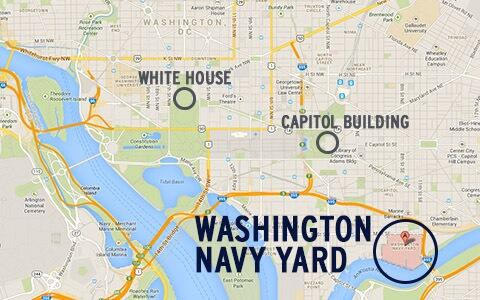 Pbs Newshour On Twitter Map Of Navy Yard In Relation To The Rest