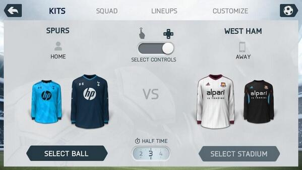 Leaked! Is the Spurs 3rd kit on the FIFA 14 Demo before being released on September 19?