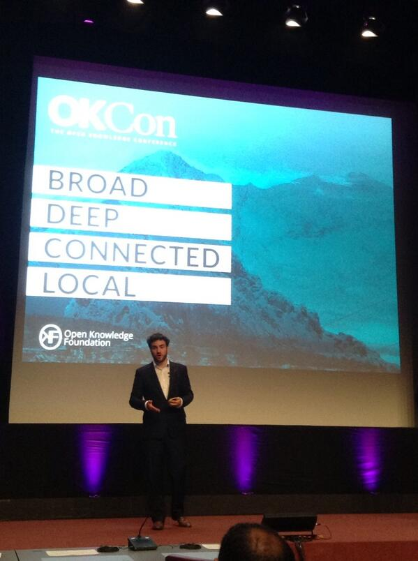 #okcon key words for an open knowledge society:  broad deep connected local http://twitter.com/celyagd/status/379870120224382976/photo/1