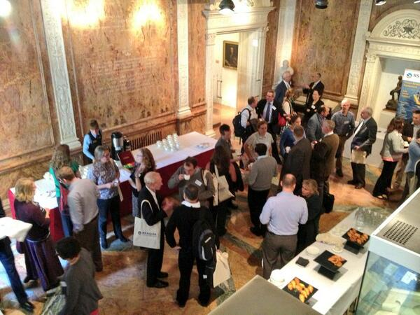 At the @royalsociety showcasing UKDMOS ukdmos.org for the @challengersoc event.  #Prospectus2013 http://twitter.com/MEDIN_marine/status/379883362267443200/photo/1
