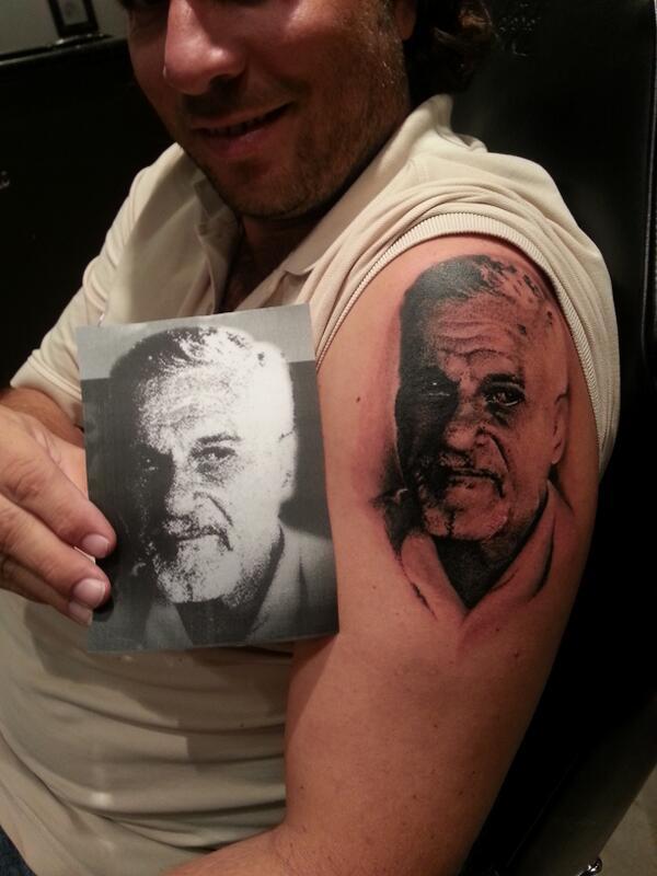 O D I N On Twitter Tuamalgama Este Tatuaje Fue Hecho Luego Del