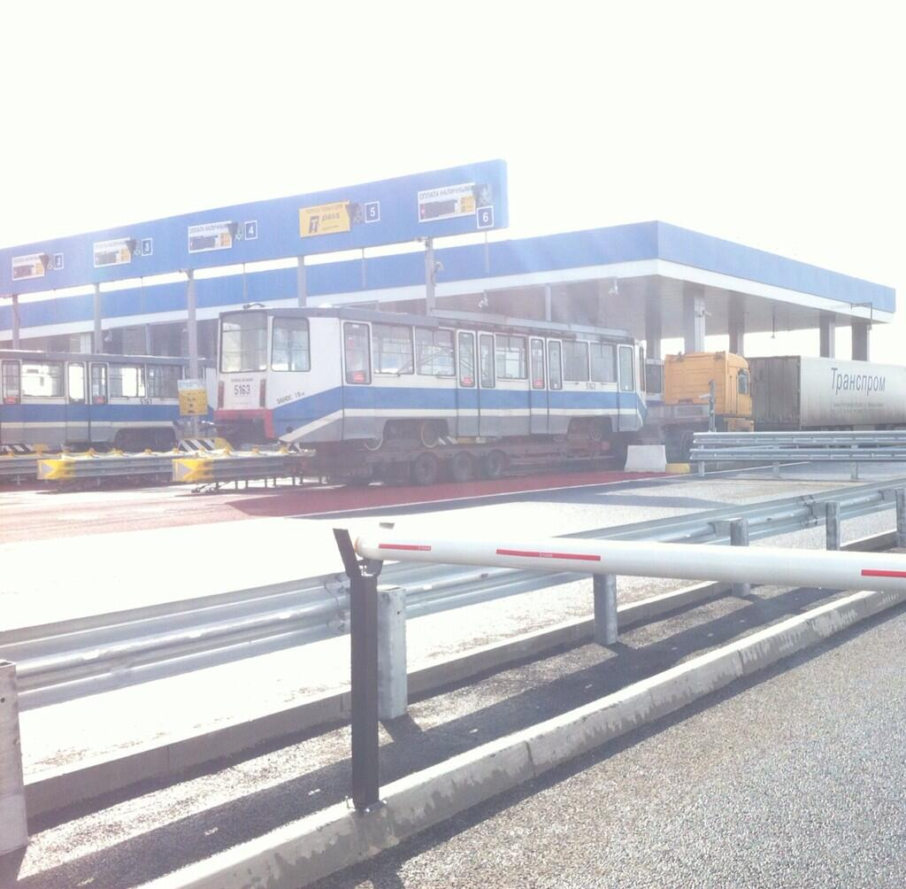 М4 ДОН 227 км Тульская область ПВП платный участок Автодор