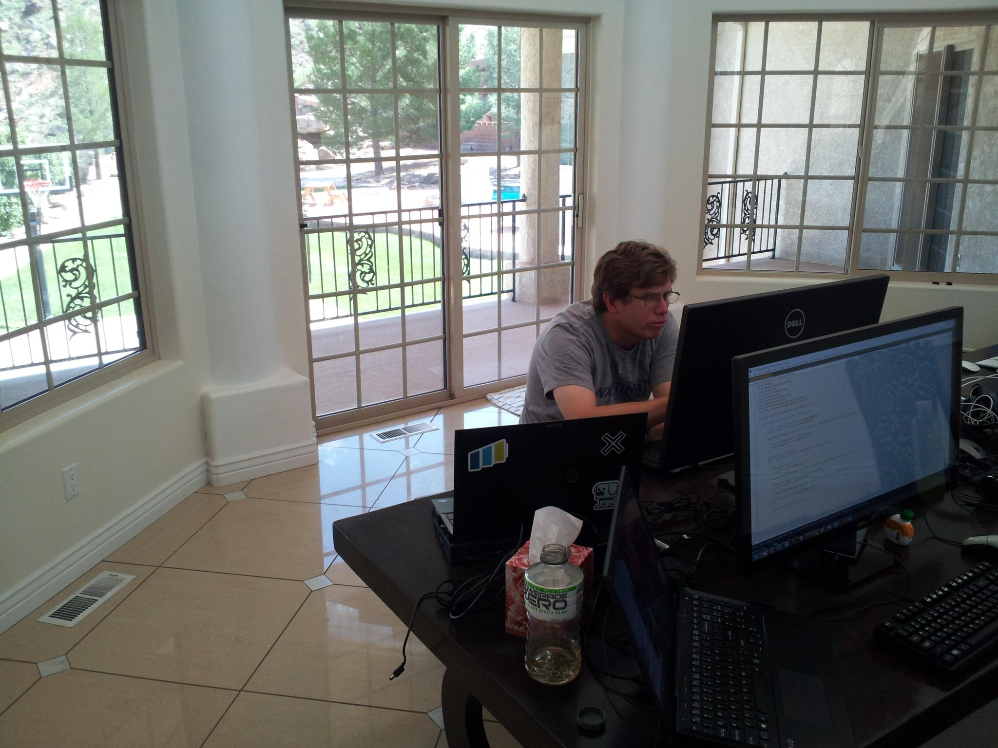 Coding at the Hock House
