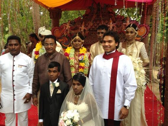"Namal Rajapaksa on Twitter: ""A grand wedding celebration ..."