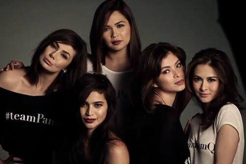 Angel Locsin and Marian Rivera in Rogue September 2013