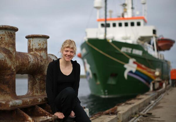 Activist @SiniSaarela is still being held at the Russian coast guard ship. RT #SaveTheArctic for support http://twitter.com/gp_sunrise/status/380336856308531201/photo/1