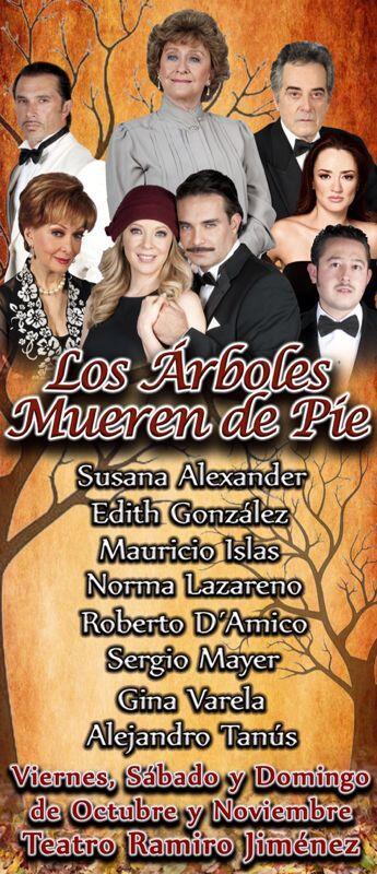 2013-03-10. [ FOTOS & NOTA ] 'Los Arboles Mueren de Pie' regresa al teatro BUd-TmqCcAAV_9a