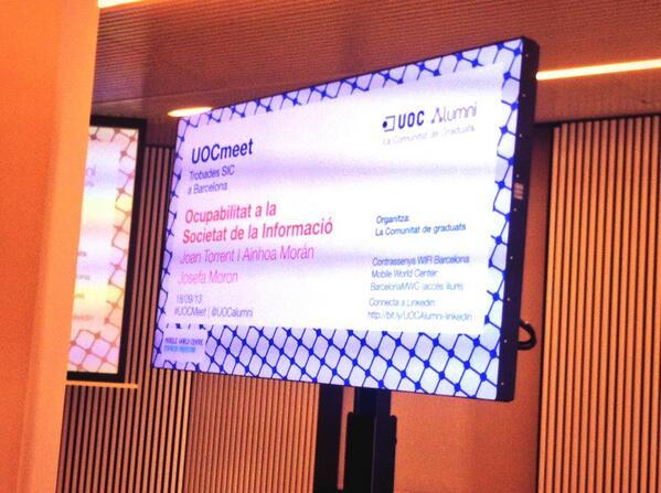 Thumbnail for #UOCmeet #Ocupabilitat a la Societat de la Informació