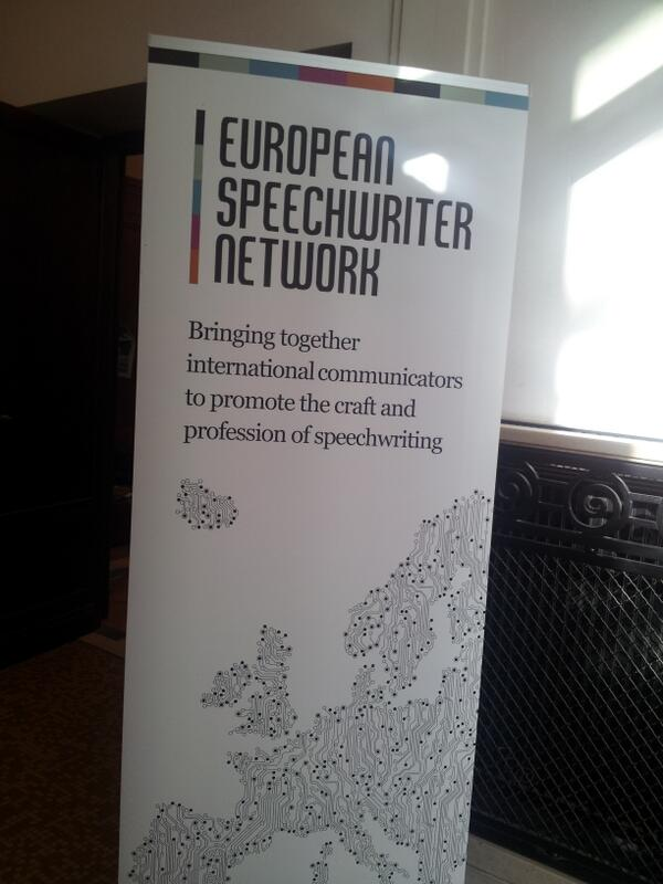 It is happening right now #esnbxl #speechwriting. http://twitter.com/RuneKier/status/380683915326803968/photo/1