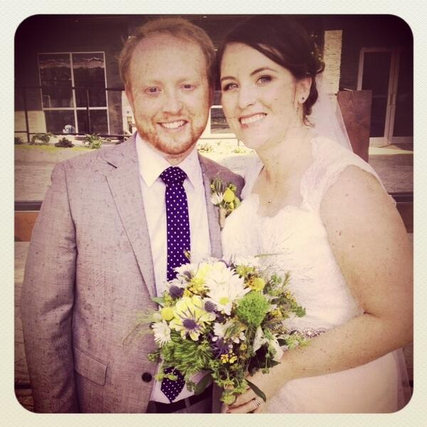 My son got married in Revelstoke last weekend!  What a blast! #PositiveThurs http://twitter.com/sylviab1/status/380722664727277568/photo/1