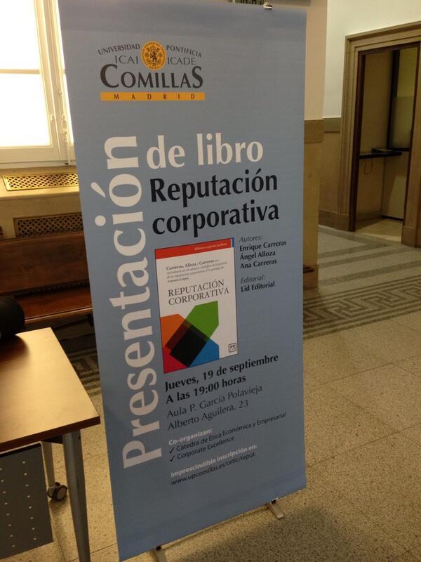 Thumbnail for Presentación de Reputación Corporativa en Madrid