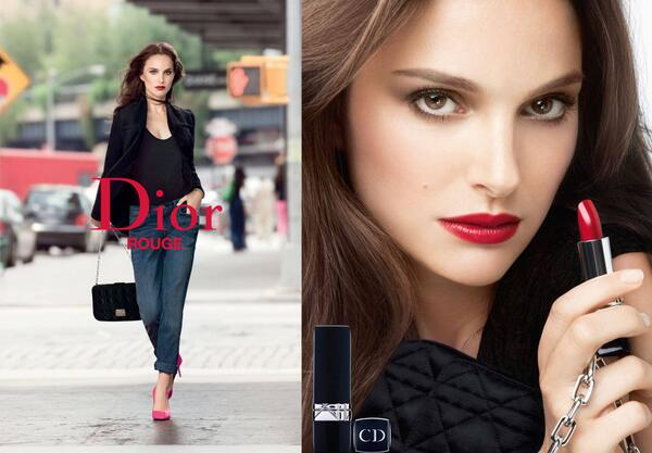 Natalie Portman, the new Rouge Dior attitude. More on DIORMAG: http://t.co/yzrMK7D5cI #dior #rougedior #lipstick http://t.co/m37cpzyQ0K