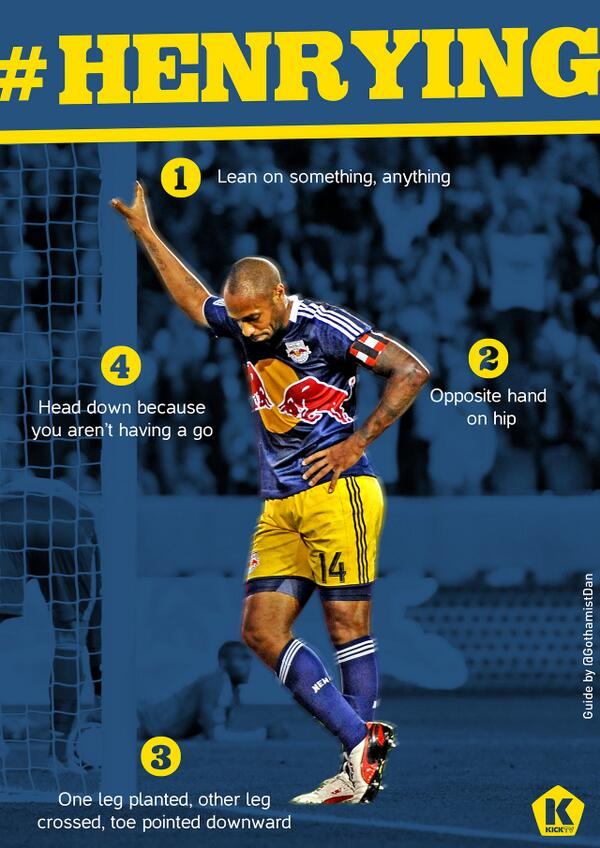 #Henrying: Memes of Arsenal & NYRB star Thierry Henry go viral [Pictures]