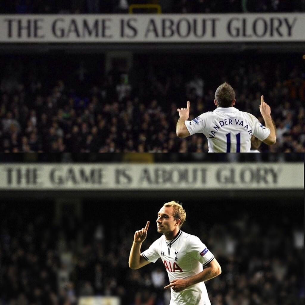 Christian Eriksen posts Game is about Glory picture on Instagram after 1st Spurs goal