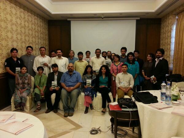Thumbnail for PakVotes' lesson-sharing event