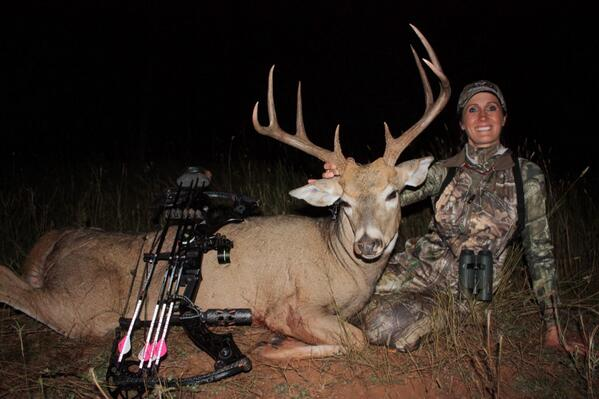 I heart shot this beautiful buck last night in WY with 7J Outfitters at 51-yards! Great start to the season! http://t.co/aiiYDSEEOD