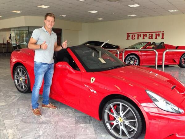 David Miller On Twitter Popped Into Ferrari This Morning To Check