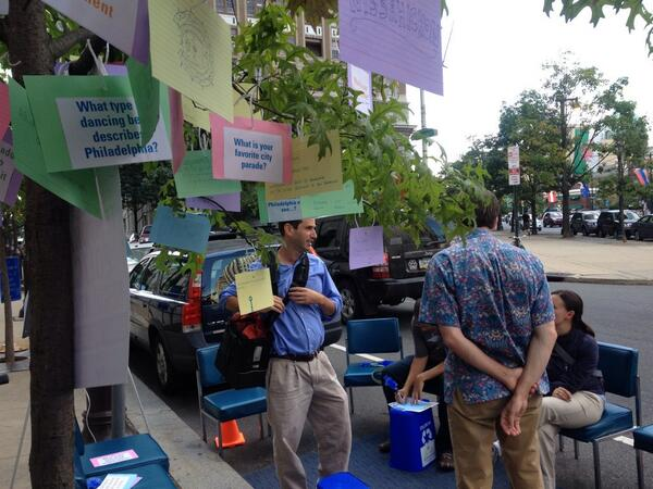 Checked out @phila2035 and their #parkingday! @parkingdayphila http://twitter.com/PhillyMOTU/status/381134633338806272/photo/1