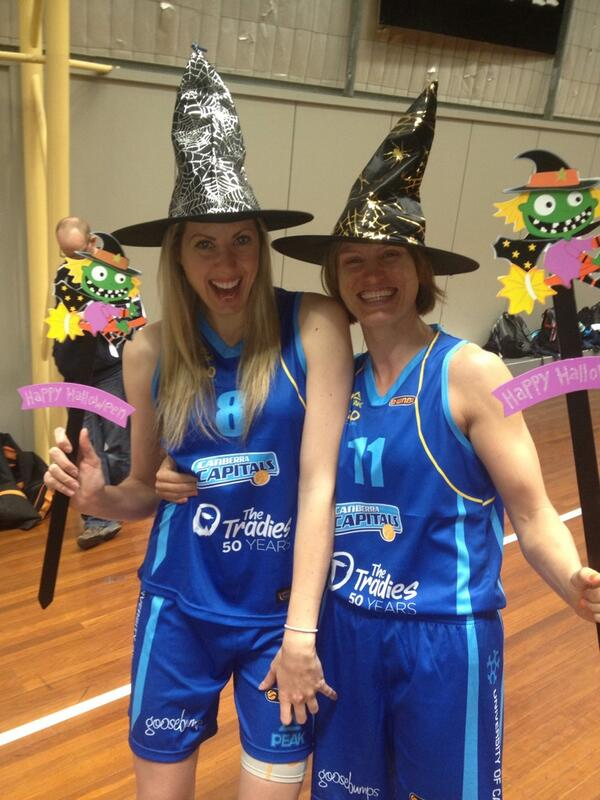 #WNBL Spring Shield photo shoot #itstime #gocaps couple of old witches @bibbyj11 @WNBL http://twitter.com/CarlyJWilson7/status/381226236174807040/photo/1