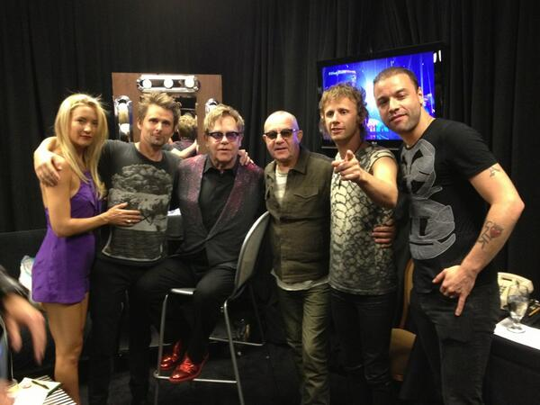 Matt bellamy on twitter hanging backstage with sir elton and matt bellamy on twitter hanging backstage with sir elton and bernie iheartradio thedivingboard httptkp3eucuivw voltagebd Image collections