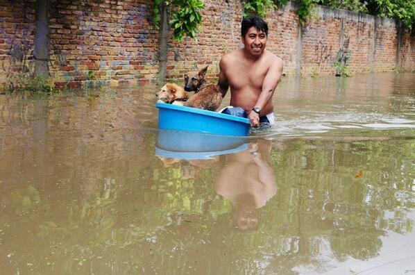 CuartoscuroMex #fotodeldia En Tixtla, Guerrero, Mx. #inundaciones #Mexico http://twitter.com/Alexnegov/status/381388799957143552/photo/1
