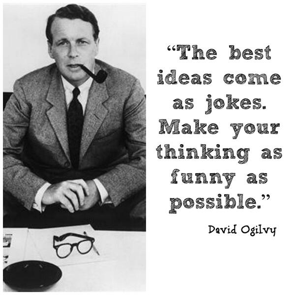"David Ogilvy Quotes Mesmerizing Darren Rowse On Twitter ""from '10 David Ogilvy Quotes That Could"