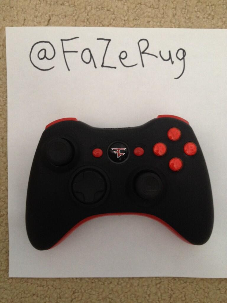 Rug on twitter rt for a chance to win a scufgaming Controller rug