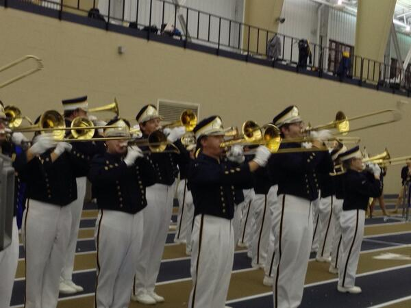 Marching Band rocks the house at UA on Display! #ZipsGameday http://twitter.com/uakronmusic/status/381527556899356673/photo/1