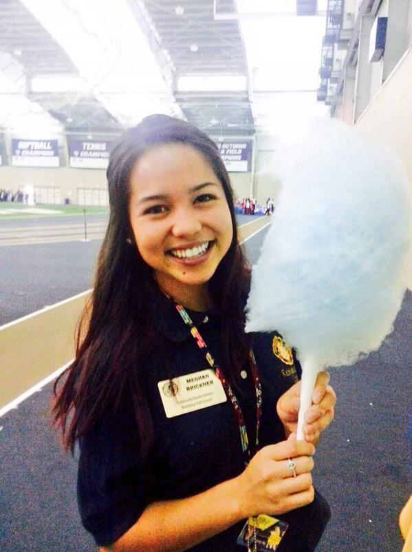 Everyone checkout #UAonDisplay at the Field House. There's free cotton candy I made just for you amazing UA Zips! http://twitter.com/MegBee94/status/381498311322001409/photo/1