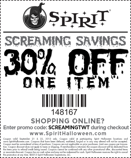 spirit halloween on twitter do you need a coupon for spirithalloween use this in store or online httptcohjn10tjmms httptcol9pbmzkm8c