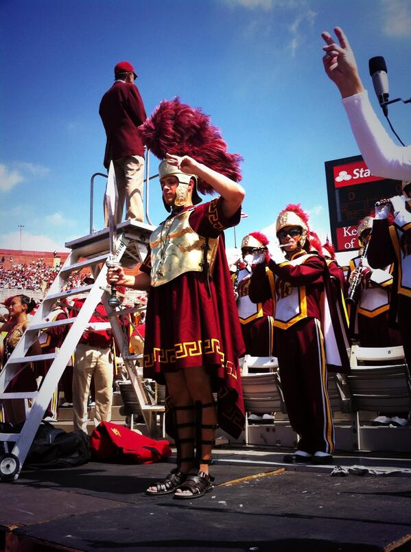 Great hanging with @uscdrumline