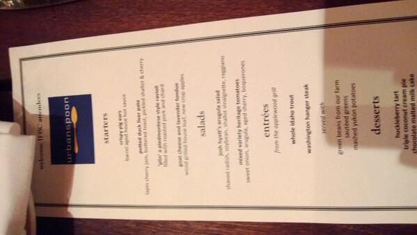 Ready to eat at @palace_kitchen #spoondinner with #ifbc. Wish @tomdouglasco was here. http://twitter.com/raveandreview/status/381615404738547712/photo/1