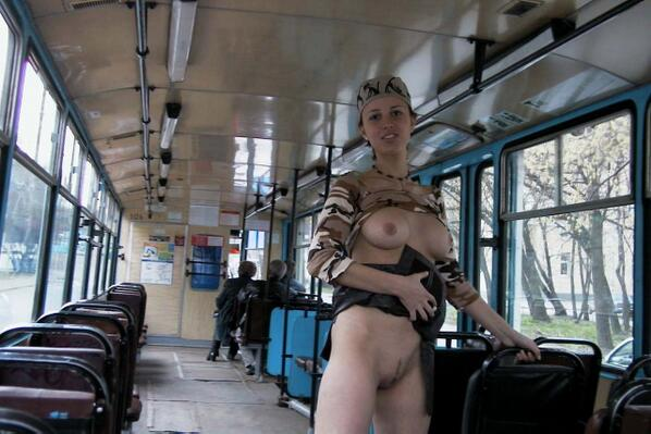 Amateur Girls In Public Transport Holed 1