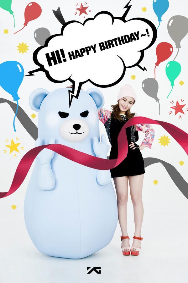 Yg Family On Twitter Happy Birthday Lee Hi ̝´í•˜ì´ Happyhiday18 Http T Co Parkmsy2sr