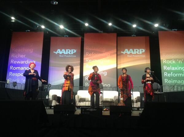 Beautiful, inspiring, spirit-filled, magnificent @SHoney73 @AARP #lifeat50! http://twitter.com/RickiDOVE/status/386483753302114304/photo/1