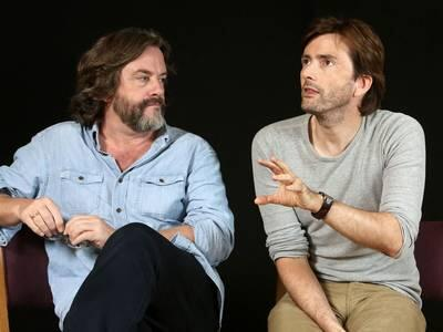 David Tennant and Gregorary Doran