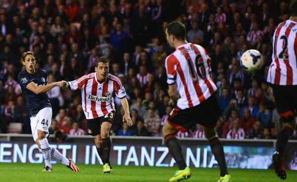 Adnan Januzajs brilliant two goal haul for Man United at Sunderland [The best Tweets]