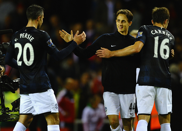 Watch every touch! Adnan Januzajs individual highlights for Man United at Sunderland [video]