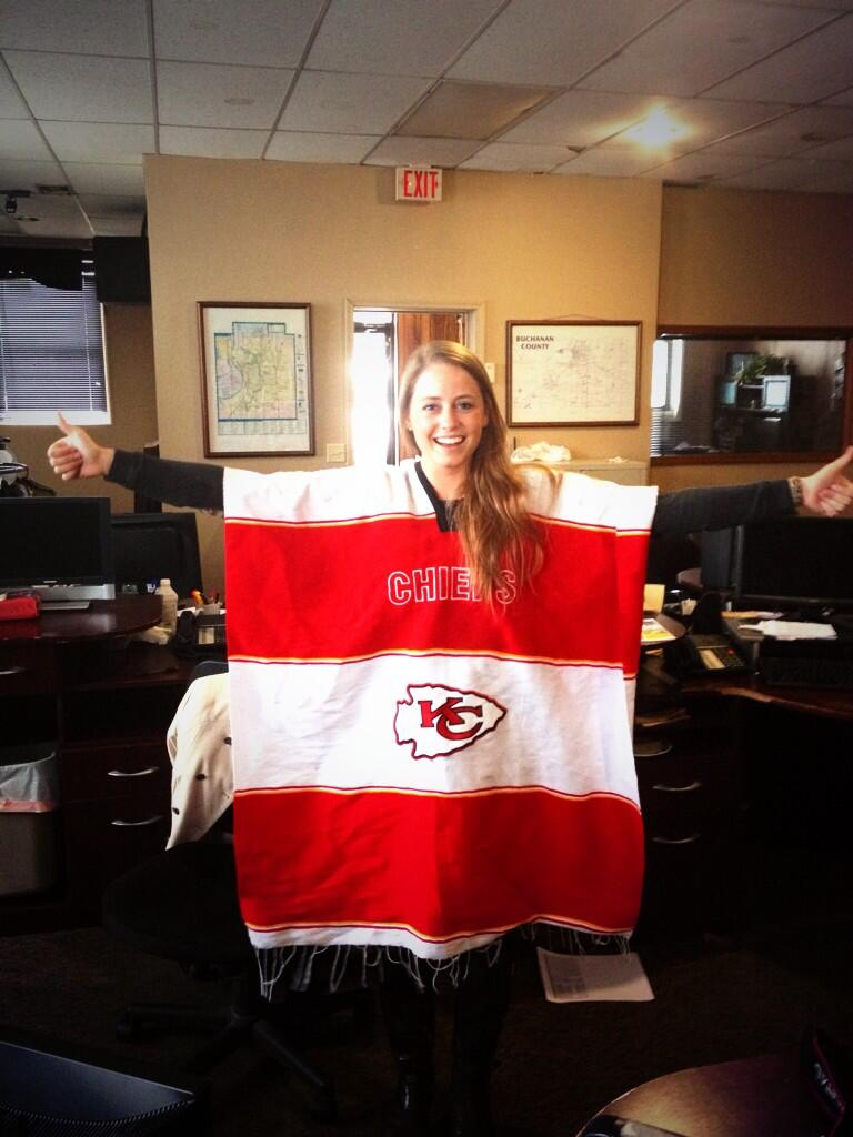 Jennifer Mcdermed On Twitter Quot Decided To Wear Chiefs Gear