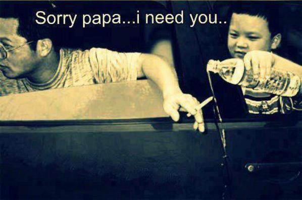 Sorry papa..I need you