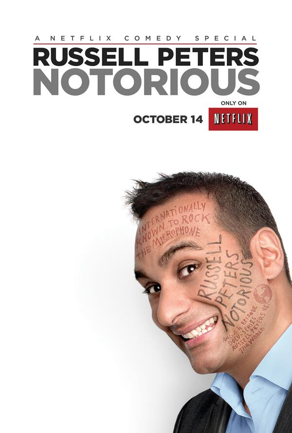 "Netflix US on Twitter: ""New poster for Russell Peters comedy ..."