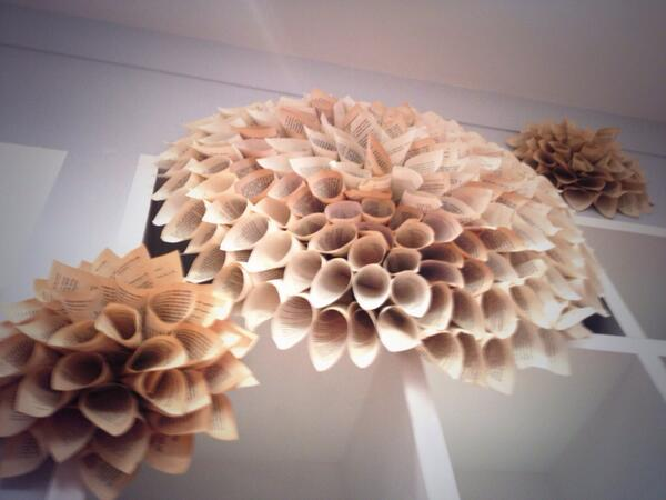 Mk interiors on twitter paper flowers made from book pages mk interiors on twitter paper flowers made from book pages clubmonaco on robson yvr httptbytftnvh9c mightylinksfo