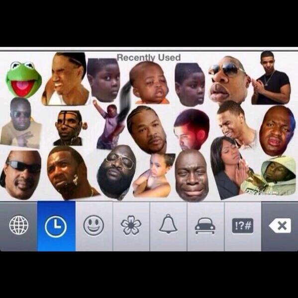 all iphone on twitter new ios 7 black emojis http t co lw0u006vle