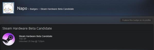 steam hardware beta candidate