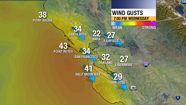 Fastest #BayArea wind gusts between 6-8pm. #americascup http://twitter.com/MikeNiccoABC7/status/382948443137667073/photo/1